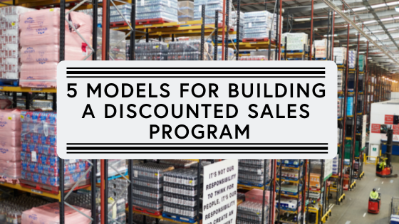 5 models for building a discounted sales program (1)