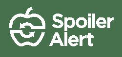 Spoiler Alert logo white