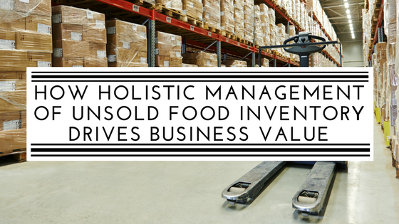 How holistic management of unsold food inventory drives business value