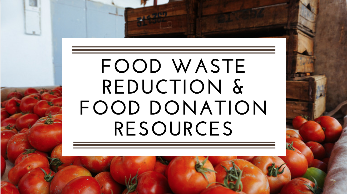 Food Waste Reduction & Food Donation Resources for New England